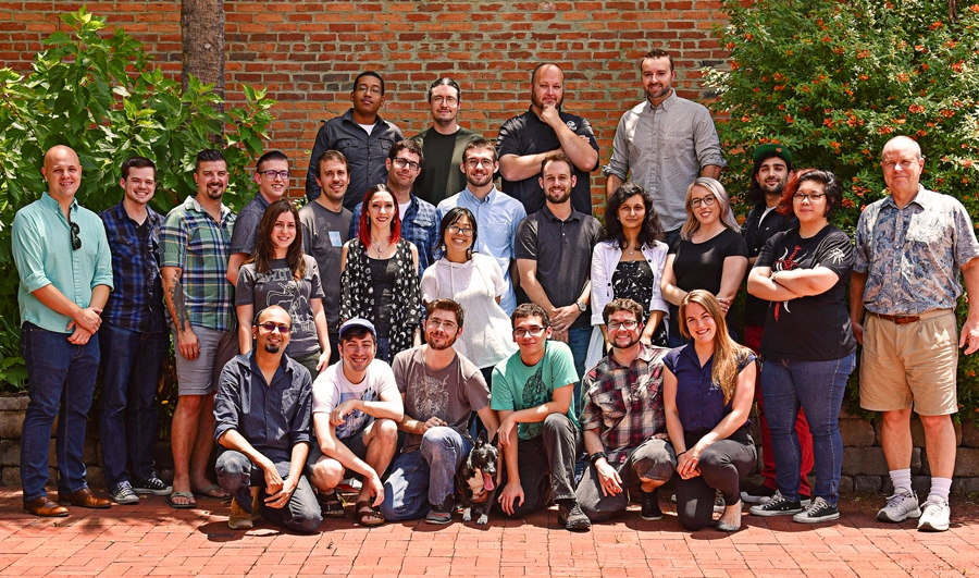 steamroller studios team photo, in house animation team